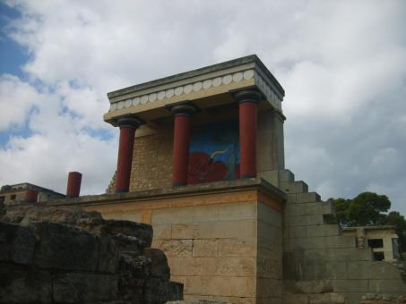 Free Stock Photo of The Palace of Knossos
