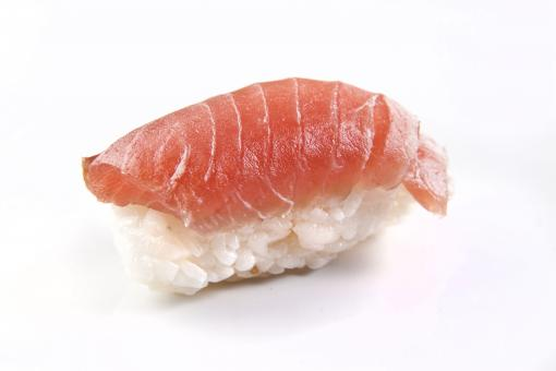 Free Stock Photo of Salmon nigiri sushi