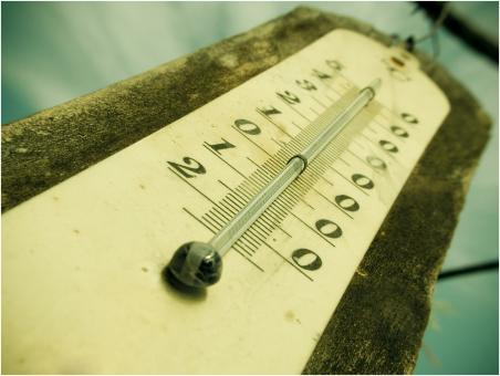 Free Stock Photo of Outdoor Thermometer