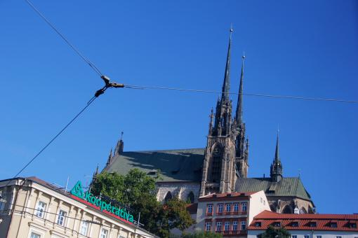 Free Stock Photo of Cathedral in Brno