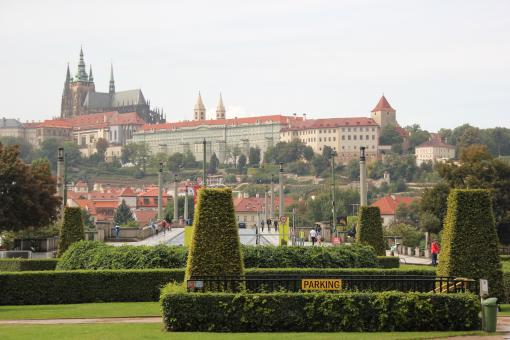 Free Stock Photo of Prague - Garden View