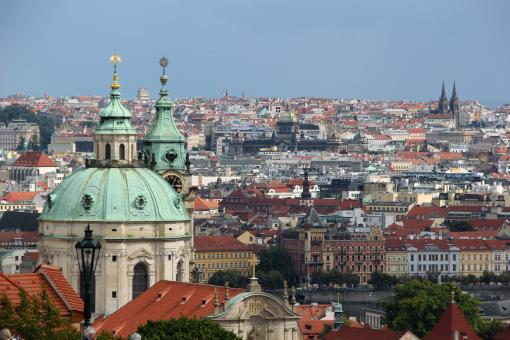 Free Stock Photo of Prague Towers