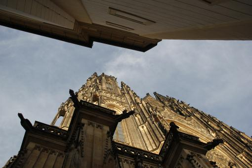Free Stock Photo of St. Vitus Cathedral in Prague