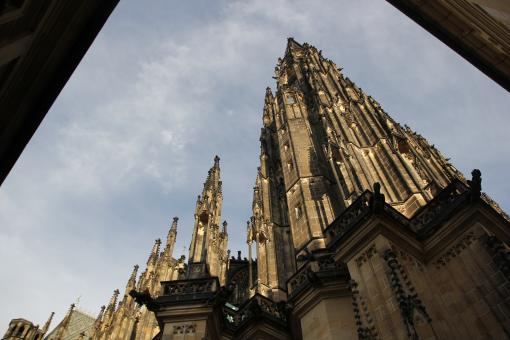 Free Stock Photo of St. Vitus Cathedral - Prague
