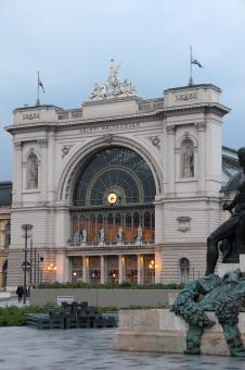 Free Stock Photo of Keleti railway station