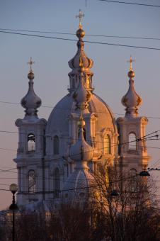 Free Stock Photo of Smolny Cathedral