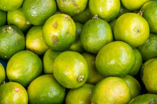 Free Stock Photo of lime citrus fruit