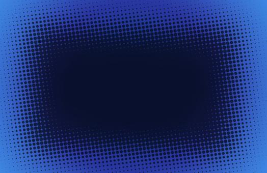 Free Stock Photo of Blue halftone background