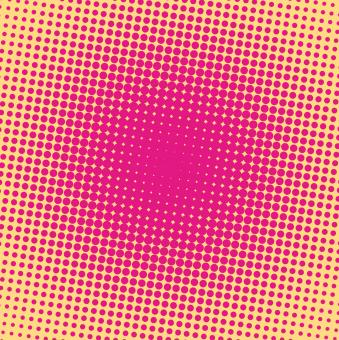 Free Stock Photo of Pink halftone dots background