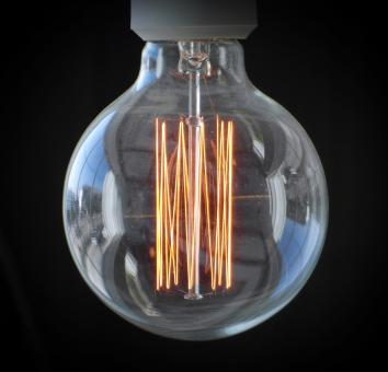Free Stock Photo of Edison Light Bulb