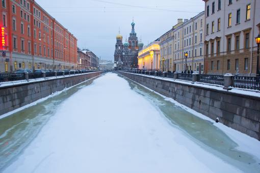 Free Stock Photo of Saint-Petersburg Canal