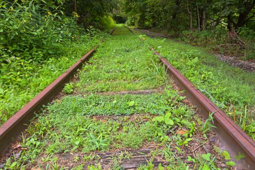 Free Stock Photo of Forgotten Tracks - HDR