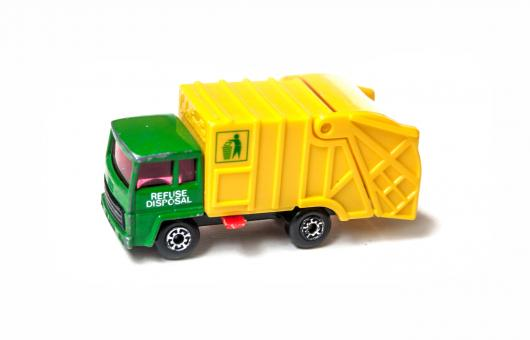 Free Stock Photo of Garbage truck toy
