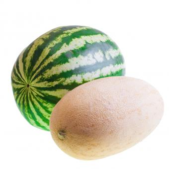 Free Stock Photo of watermelon and melon