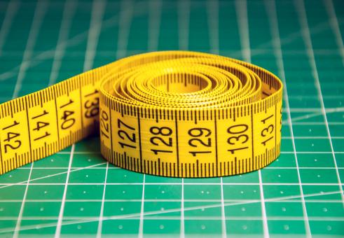 Free Stock Photo of Measure tape