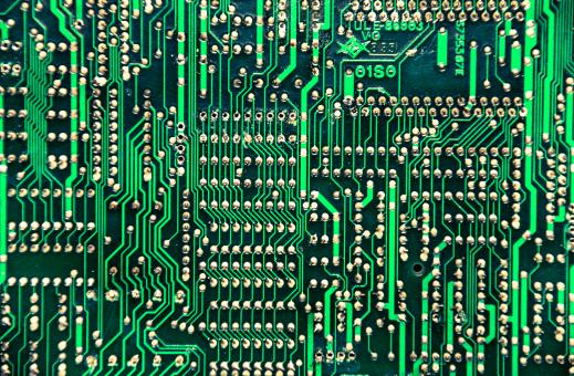 Free Stock Photo of computer circuit board