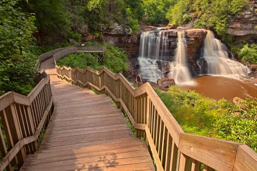 Free Stock Photo of Blackwater Falls - HDR