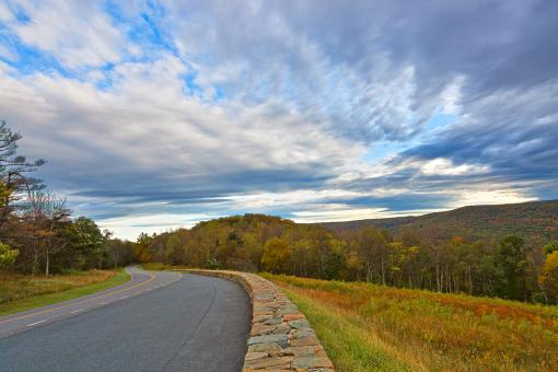 Free Stock Photo of Skyline Drive - HDR