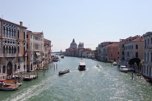 Free Stock Photo of Venice Grand canal
