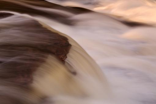 Free Stock Photo of Swallow Falls Close-up - Abstract HDR