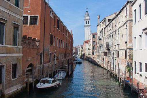 Free Stock Photo of Canal in Venice
