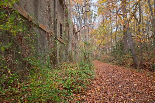 Free Stock Photo of Fall Power House Trail - HDR