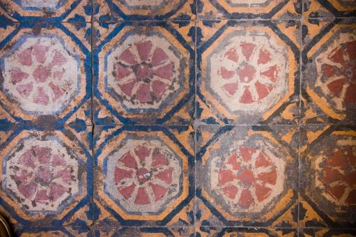 Free Stock Photo of Old tiles
