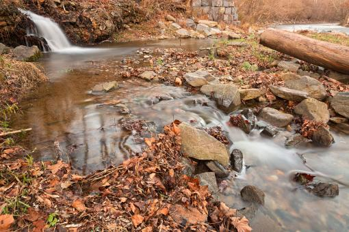 Free Stock Photo of Susquehanna Stream - HDR