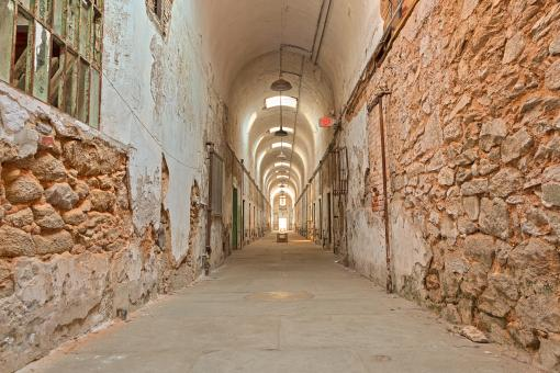 Free Stock Photo of Prison Corridor - HDR