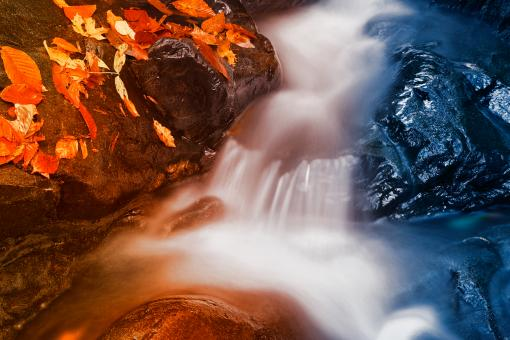 Free Stock Photo of Stream of Fire & Ice - HDR