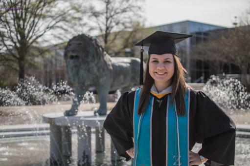 Free Stock Photo of Gina Gordy Graduates From ODU