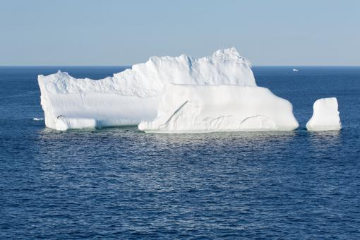 Free Stock Photo of Atlantic Canada Iceberg