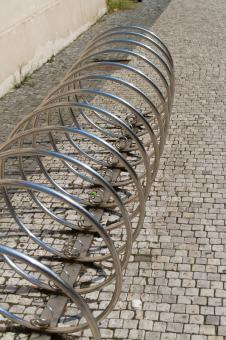 Free Stock Photo of Bicycle Parking