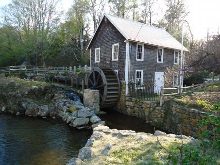 Free Stock Photo of Grist Mill