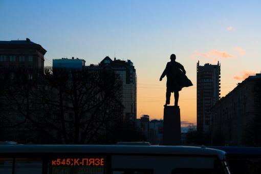 Free Stock Photo of Lenin, Saint Petersburg