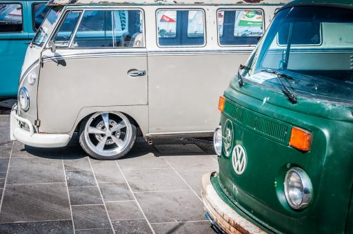 Free Stock Photo of Volkswagen vans