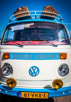 Free Stock Photo of Volkswagen van