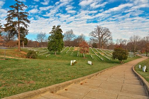 Free Stock Photo of Arlington National Cemetery - HDR