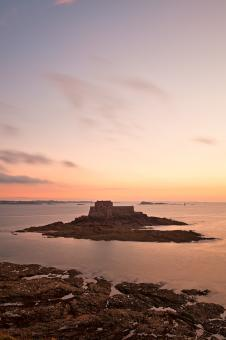 Free Stock Photo of Saint-Malo Twilight - HDR