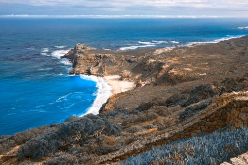 Free Stock Photo of Cape Blue Point - HDR