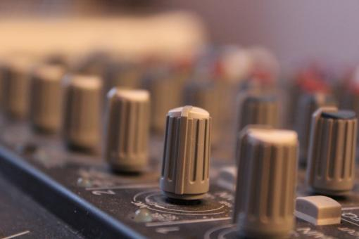 Free Stock Photo of Sound controller