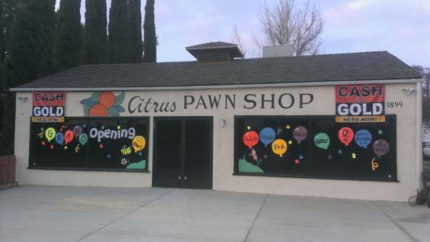Free Stock Photo of Citrus Pawn Shop