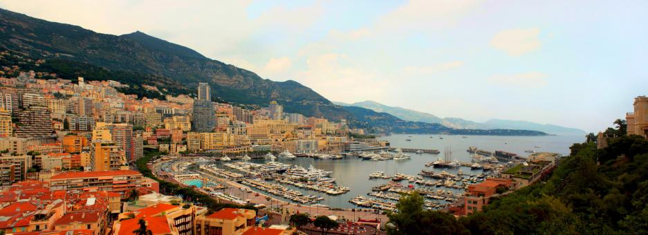 Free Stock Photo of Panoramic view of Monte Carlo in Monaco