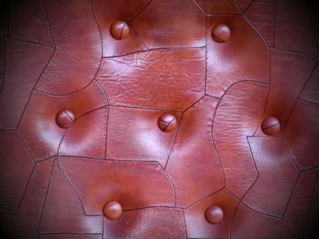 Free Stock Photo of Cracked Brown Leather Background