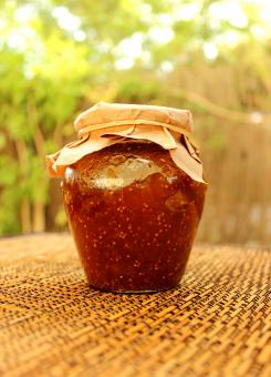 Free Stock Photo of Homemade Fig Jam