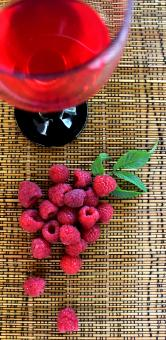 Free Stock Photo of Raspberry juice