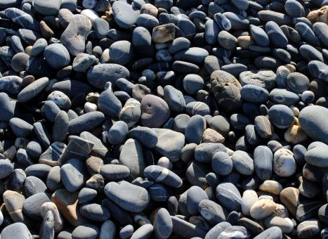 Free Stock Photo of Dark Pebbles Texture