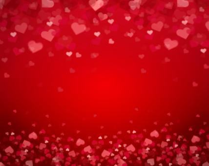 Free Stock Photo of Valentine's Day Heart Pattern Background