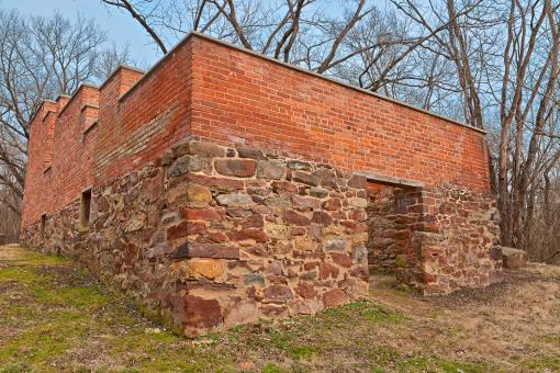 Free Stock Photo of Jarboe's Store Ruins - HDR