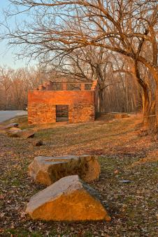 Free Stock Photo of Jarboe's Sunset Store Ruins - HDR